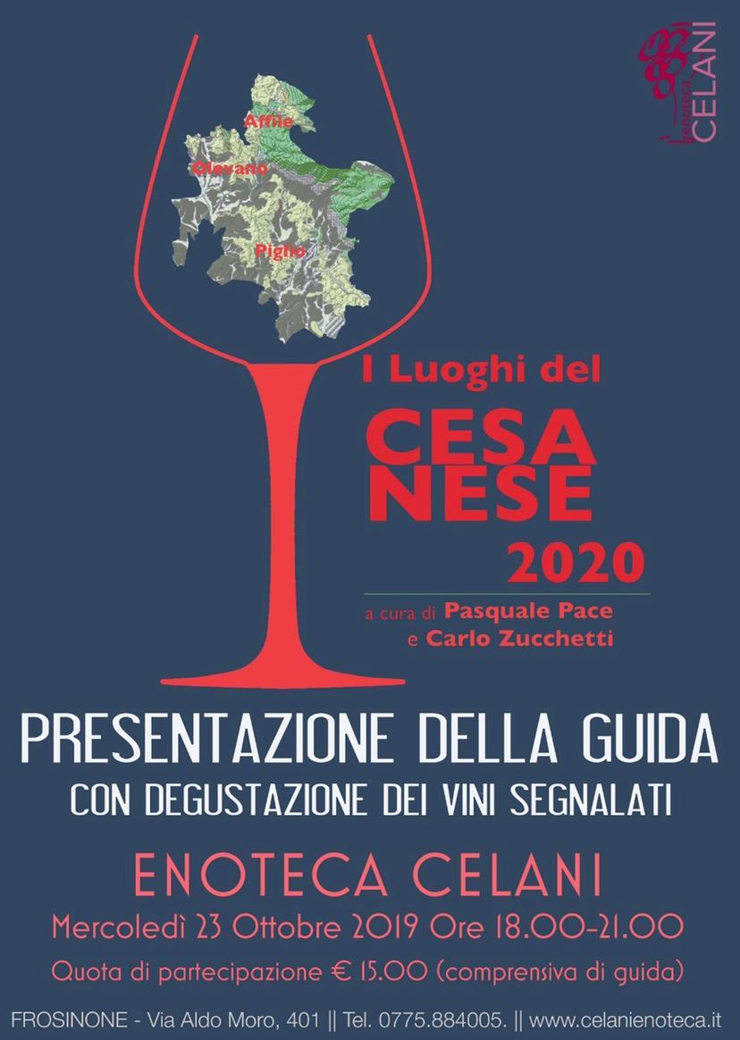 I luoghi del Cesanese 2020